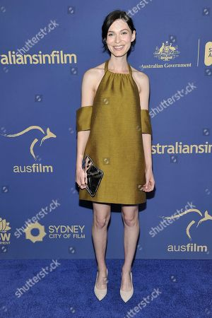 Tilda Cobham-Hervey attends the 8th Annual Australians in Film Awards at the InterContinental Hotel, in Los Angeles
