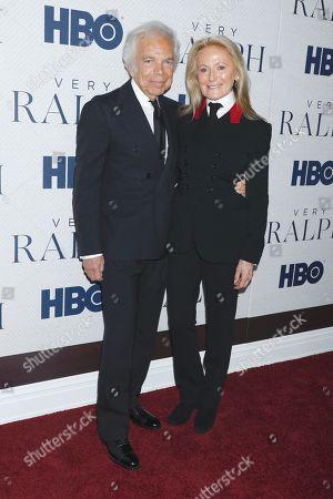 Ralph Lauren and Ricky Lauren