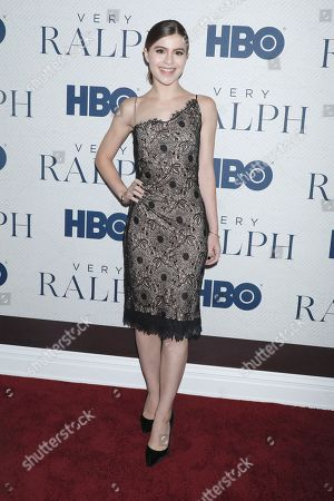 Editorial image of 'Very Ralph' film premiere, Arrivals, The Metropolitan Museum of Art, New York, USA - 23 Oct 2019