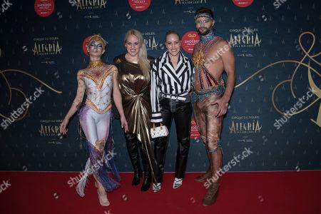 Editorial picture of Cirque du Soleil 'Alegria' album launch, Arrivals, Ontario Place Corporation, Toronto, Canada - 19 Sep 2019