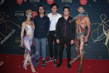 Editorial picture of Cirque du Soleil 'Alegria' album launch, Arrivals, Ontario Place Corporation, Toronto, Canada - 19 Sep 2019