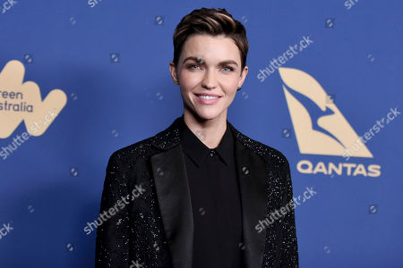 Ruby Rose attends the 8th Annual Australians in Film Awards at the InterContinental Hotel, in Los Angeles