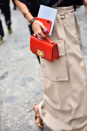 Stock Picture of Viktoria Rader, bag detail