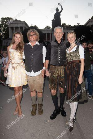 Martina Nicia, Martin Krug, HP Baxxter and Lysann Geller