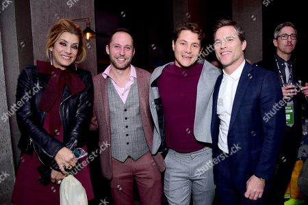 Kate Walsh, David Hatkoff, Augustus Prew and Mike Doyle
