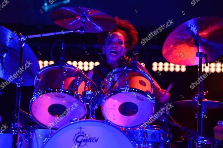 Stock Picture of Cindy Blackman-Santana