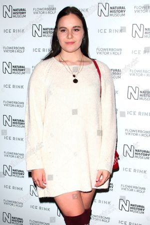 Editorial picture of Natural History Museum Ice Rink launch party, London, UK - 23 Oct 2019