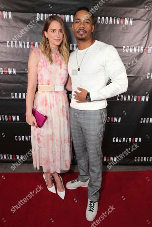Elizabeth Lail and Jordan Calloway