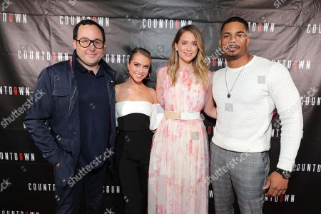 P.J.Byrne, Anne Winters, Elizabeth Lail and Jordan Calloway