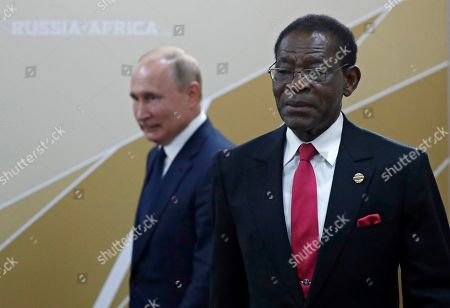 Editorial photo of Russia-Africa Summit and Economic Forum in Sochi, Russian Federation - 24 Oct 2019