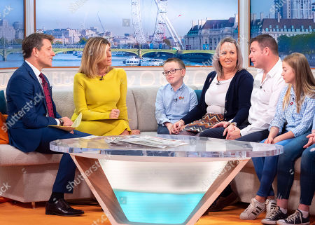 Ben Shephard, Kate Garraway with Alan White and Family