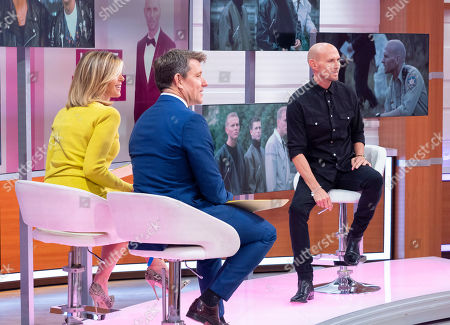 Ben Shephard and Kate Garraway with Luke Goss