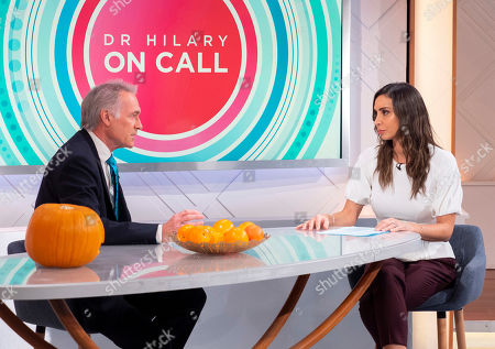 Dr Hilary Jones and Christine Lampard
