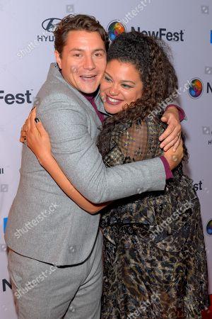 Augustus Prew and Michelle Buteau
