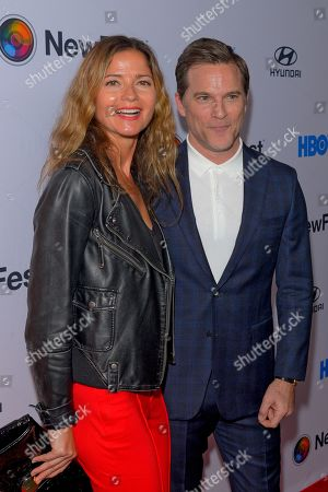 Jill Hennessy and Mike Doyle