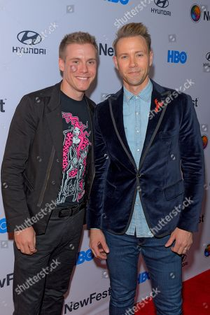 Stock Image of Zachary Booth and Christopher Hanke