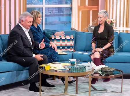 Eamonn Holmes and Ruth Langsford with Patricia Kelly