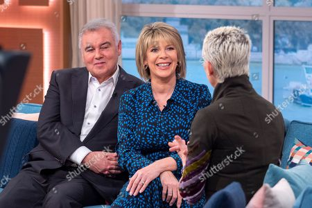 Editorial image of 'This Morning' TV show, London, UK - 24 Oct 2019
