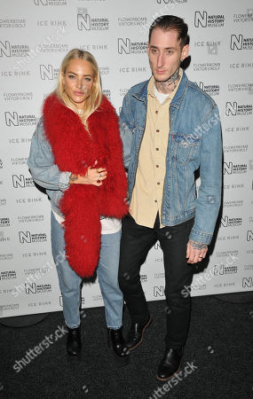 Editorial photo of Natural History Museum Ice Rink launch party, London, UK - 23 Oct 2019
