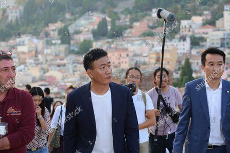 Hu Jun on Corso Umberto