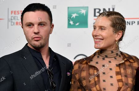 Michael Pitt (L) and Dree Hemingway pose during the photocall for the movie 'Run With the Hunted ' at the 14th annual Rome Film Festival, in Rome, Italy, 24 October 2019. The film festival runs from 17 to 27 October.