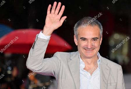Olivier Assayas poses on the red carpet at the 14th annual Rome Film Festival, in Rome, Italy, 24 October 2019. The film festival runs from 17 to 27 October 2019.