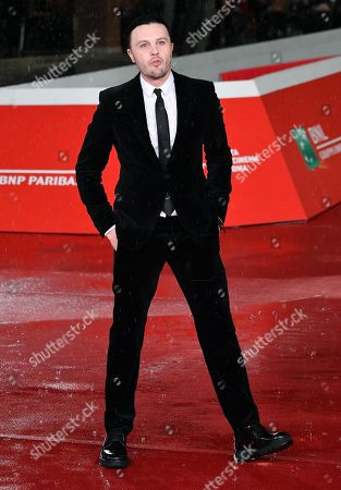Michael Pitt arrives for the screening of 'Run With the Hunted' at the 14th annual Rome Film Festival, in Rome, Italy, 24 October 2019. The film festival runs from 17 to 27 October 2019.