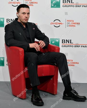 Michael Pitt poses during the photocall for the movie 'Run With the Hunted ' at the 14th annual Rome Film Festival, in Rome, Italy, 24 October 2019. The film festival runs from 17 to 27 October.