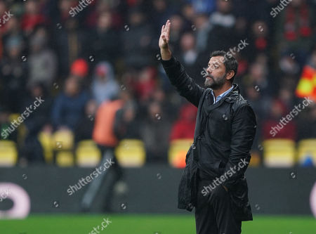 Quique Flores, manager of Watford