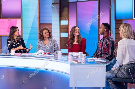Editorial image of 'Loose Women' TV show, London, UK - 24 Oct 2019