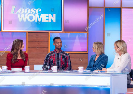 Stock Picture of Catherine Tyldesley, Johannes Radebe, Carol McGiffin and Jane Moore