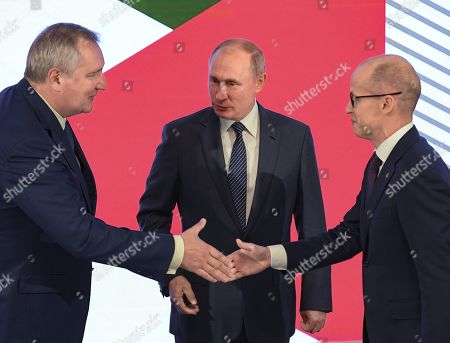 Editorial picture of Russian President Vladimir Putin visit to Izhevsk, Russia - 19 Sep 2019