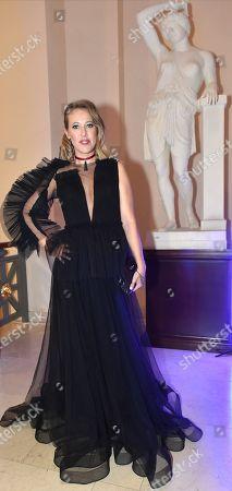 Journalist, TV host Ksenia Sobchak