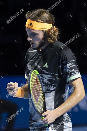 Editorial image of Swiss Indoors tennis tournament, Basel, Switzerland - 24 Oct 2019