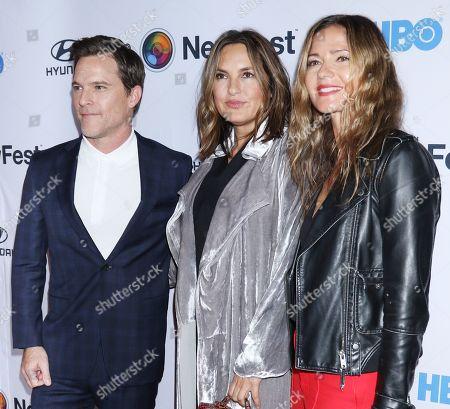 Mike Doyle, Mariska Hargitay and Jill Hennessy