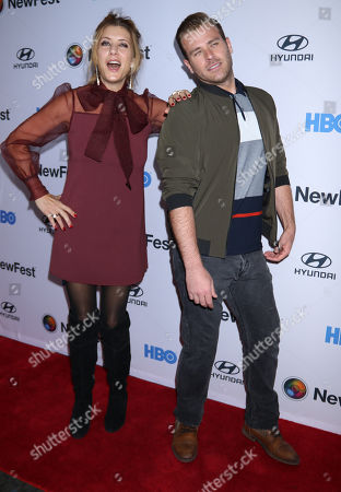 Kate Walsh and Scott Evans