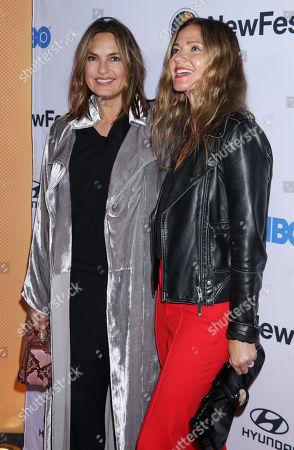 Mariska Hargitay and Jill Hennessy