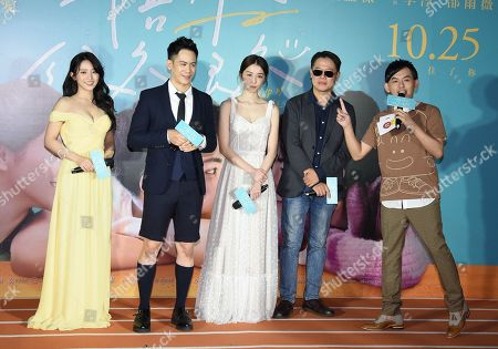Editorial picture of 'Stand by Me' film premiere, Taipei, Taiwan - 23 Oct 2019