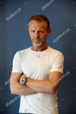 Norwegian writer Jo Nesbo poses for the media during an interview to Spanish News Agency EFE held in Madrid, Spain, 24 October 2019. Nesbo presented the 12th novel of the detective Harry Hole series.