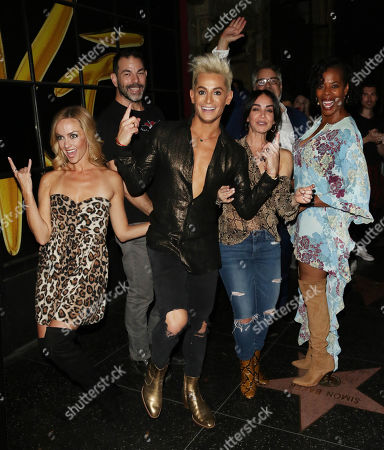 Editorial photo of Frankie Grande out and about, Los Angeles, USA - 23 Oct 2019