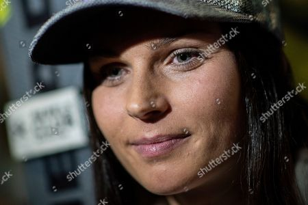 Anna Veith of Austria during a press event of the FIS Alpine Skiing World Cup in Soelden, Austria, 24 October 2019. The Alpine Skiing World Cup season 2019/2020 will be traditionally opened with Giant Slalom races on 26 and 27 October 2019 in Soelden.