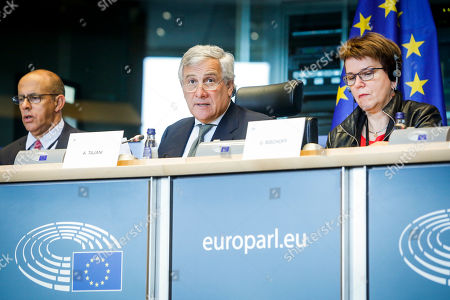Editorial image of Brexit Afco Committee Meeting, Brussels, Belgium - 25 Sep 2019