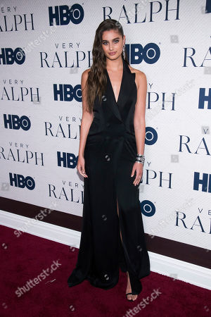 """Taylor Hill attends the world premiere of HBO Documentary Films' """"Very Ralph"""" at the Metropolitan Museum of Art, in New York"""