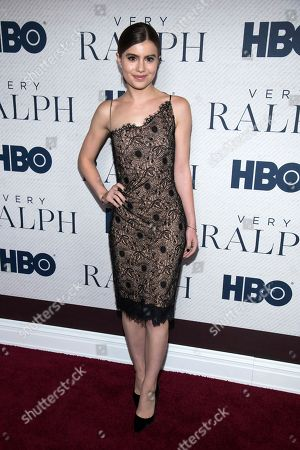 """Stock Photo of Sami Gayle attends the world premiere of HBO Documentary Films' """"Very Ralph"""" at the Metropolitan Museum of Art, in New York"""