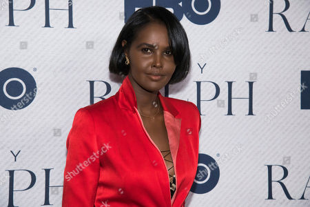 "Stock Image of Ubah Hassan attends the world premiere of HBO Documentary Films' ""Very Ralph"" at the Metropolitan Museum of Art, in New York"