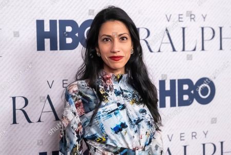 """Huma Abedin attends the world premiere of HBO Documentary Films' """"Very Ralph"""" at the Metropolitan Museum of Art, in New York"""