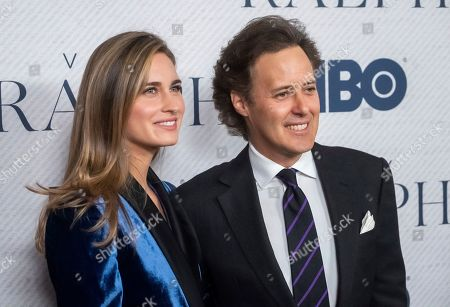 "David Lauren, Lauren Bush Lauren. David Lauren and Lauren Bush Lauren attend the world premiere of HBO Documentary Films' ""Very Ralph"" at the Metropolitan Museum of Art, in New York"