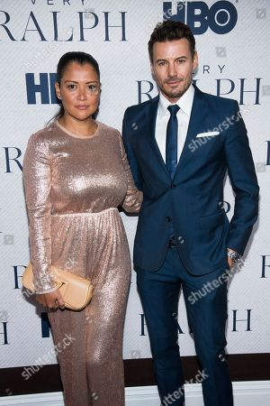 """Alex Lundqvist, Keytt Lundqvist. Keytt Lundqvist and Alex Lundqvist attend the world premiere of HBO Documentary Films' """"Very Ralph"""" at the Metropolitan Museum of Art, in New York"""