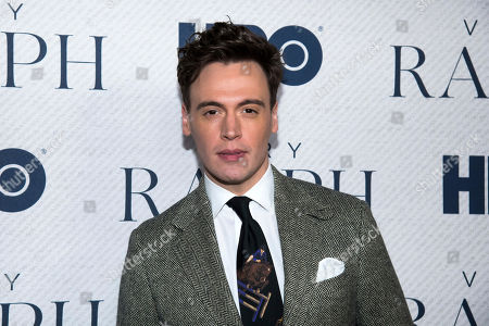 """Erich Bergen attends the world premiere of HBO Documentary Films' """"Very Ralph"""" at the Metropolitan Museum of Art, in New York"""
