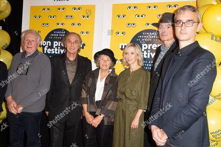 Xavier Picard, Jean Francois Laguionie, Anik Le Ray, Lea Drucker, Enrico Di Giovanni and guest